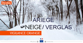 Alerte orange neige verglas